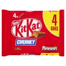 Nestle Kit Kat Chunky Milk 4 Pack