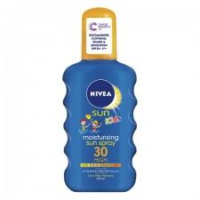 Nivea Childrens Coloured Sun Spray SPF50 200ml