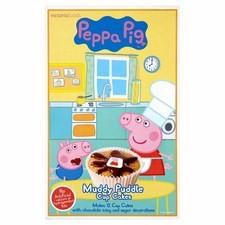 Peppa Pig Muddy Puddle Cupcake Mix 195g