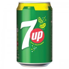 Retail Pack 7 Up Regular 24 x 330ml Cans
