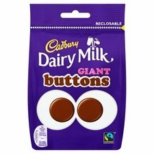Retail Pack Cadbury Giant Buttons 10 x 119g