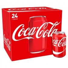 Retail Pack Coca Cola Regular 24x330ml Cans Carton