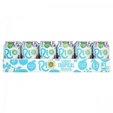 Retail Pack Rio Light Tropical 24 x 330ml