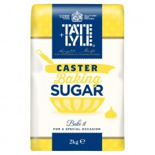 Tate and Lyle Fairtrade Caster Sugar 2kg