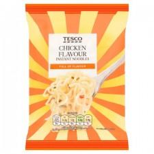 Tesco Chicken Flavour Instant Noodles 85g