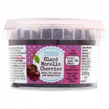 Tesco Glace Morello Cherries 200g