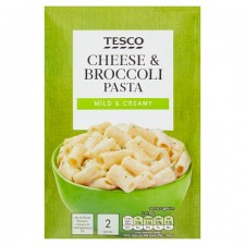 Tesco Pasta In Sauce Cheese and Broccoli 120g