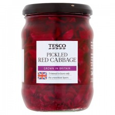 Tesco Pickled Red Cabbage 340g