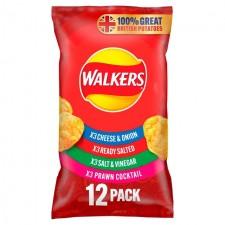 Walkers Variety Crisps 12 Pack