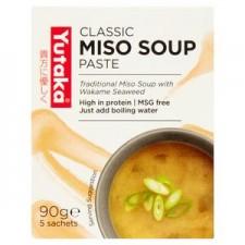 Yutaka Japanese Miso Soup 90g box