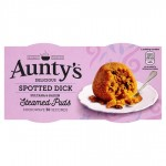 Auntys Spotted Dick Puddings 2x95g
