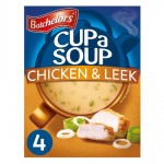 Batchelors Cup A Soup Original Chicken And Leek 4 sachets