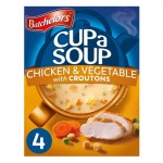 Batchelors Cup A Soup with Croutons Chicken And Vegetable 4 sachets
