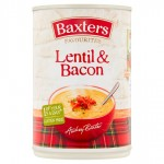 Baxters Favourites Lentil and Bacon Soup 400g