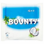 Bounty Milk Chocolate 4 x 57g