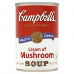 Campbells Cream Of Mushroom Condensed Soup 295g
