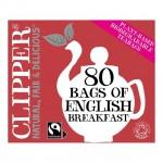 Clipper Organic English Breakfast Tea 80 Teabags