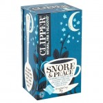 Clipper Organic Snore and Peace Chamomile Lemon Balm and Lavender Infusion 20 Teabags