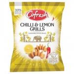 Cofresh Snacks Chilli And Lemon Potato Grills 80g
