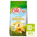 Cow and Gate 10+ Months Banana Muesli 330g