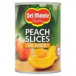 Del Monte Peach Slices in Fruit Juice 415g