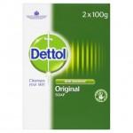 Dettol Antibacterial Bar Soap Original 2 x 100g
