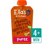 Ellas Kitchen Organic Butternut Squash Carrots Apples and Prunes 120g 4 Month