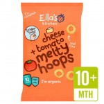Ellas Kitchen Organic Cheese and Tomato Melty Hoops 20g