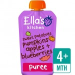 Ellas Kitchen Organic Sweet Potato Pumpkin Apple and Blueberries 120g 4 Months