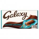 Galaxy Salted Caramel Chocolate 135g