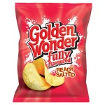 Golden Wonder Ready Salted Crisps 32 x 32.5g box