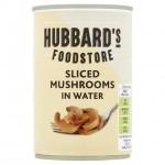 Hubbards Foodstore Sliced Mushrooms In Water 290g