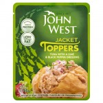 John West Jacket Toppers Tuna with a Lime and Black Pepper Dressing 85g