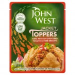 John West Jacket Toppers Tuna with a Tomato and Herb Dressing 85g