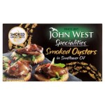 John West Smoked Oysters in Sunflower Oil 85g