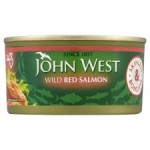 John West Wild Red Salmon Skinless And Boneless 170g