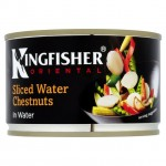 Kingfisher Sliced Water Chestnuts 225g