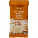 Marks and Spencer All Butter Fudge Cubes 100g