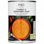 Marks and Spencer Carrot and Coriander Soup 400g