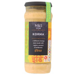 Marks and Spencer Korma Sauce 340g jar
