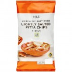 Marks and Spencer Lightly Salted Pitta Chips 5 x 25g