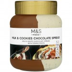 Marks and Spencer Milk and Cookies Chocolate Spread 400g