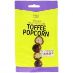 Marks and Spencer Milk Chocolate Toffee Popcorn 140g