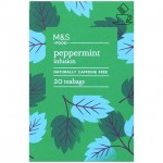Marks and Spencer Peppermint Infusion 20 Teabags