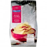 Marks and Spencer Reduced Fat Ready Salted Crinkles Crisps 150g