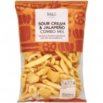 Marks and Spencer Sour Cream and Jalapeno Combo Mix 150g