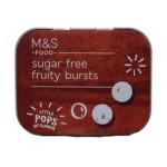 Marks and Spencer Sugar Free Fruity Bursts 18g