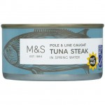 Marks and Spencer Tuna Steak in Spring Water 200g
