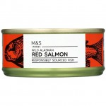 Marks and Spencer Wild Alaskan Red Salmon 105g