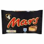 Mars Bar 4 Pack